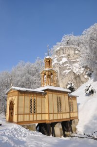 Kaplica na wodzie - fot. M. Golanko