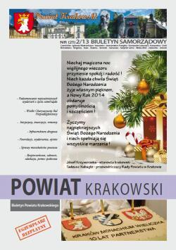 Biuletyn Samorządowy Powiat Krakowski - rok 2013 nr 2