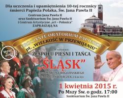 """Uroczyste Oratorium Papieskie pt.""""Wielkość w przemijaniu"""""""