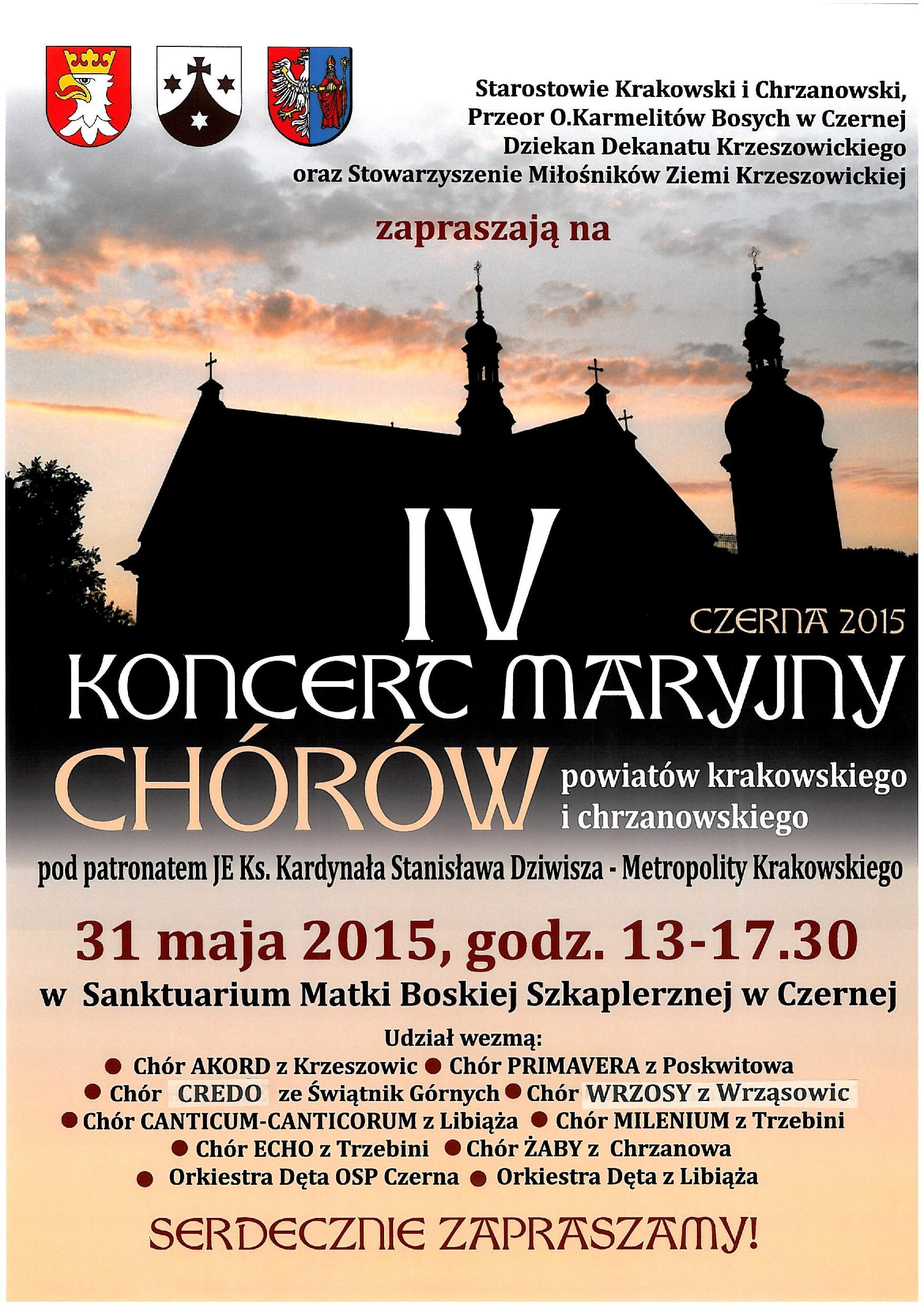 IV Koncert Maryjny @ Krzeszowice   małopolskie   Polska