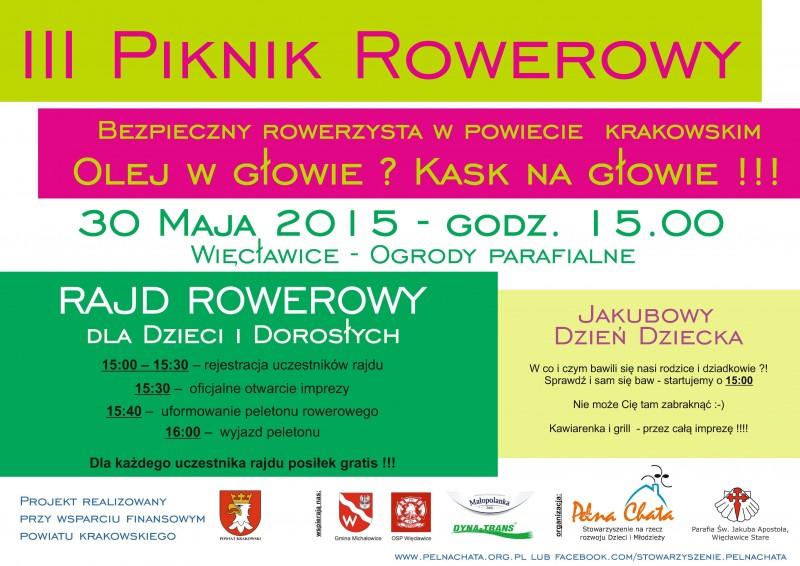 III Piknik Rowerowy @ Ogrody Parafialne   Więcławice Stare   małopolskie   Polska