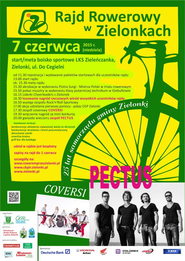Rajd Rowerowy w Zielonkach @ Boisko LKS Zieleńczanka   Zielonki   małopolskie   Polska