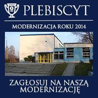 """Plebiscyt internetowy """"Modernizacja Roku 2014"""""""