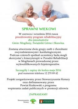 plakat Sprawni Wiekowi