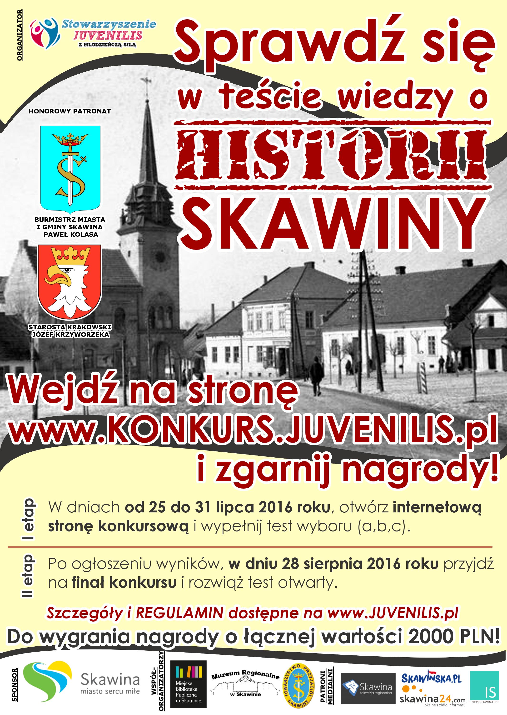 Test wiedzy o historii Skawiny @ Skawina | małopolskie | Polska