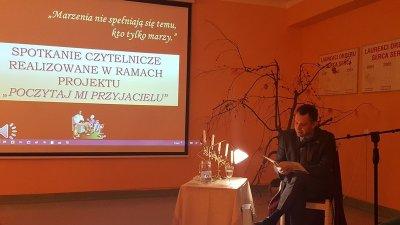 II spotkanie czytelnicze w SOSW w Skawinie