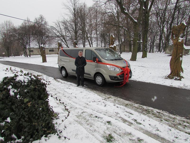 Nowy samochód dla DPS Więckowice