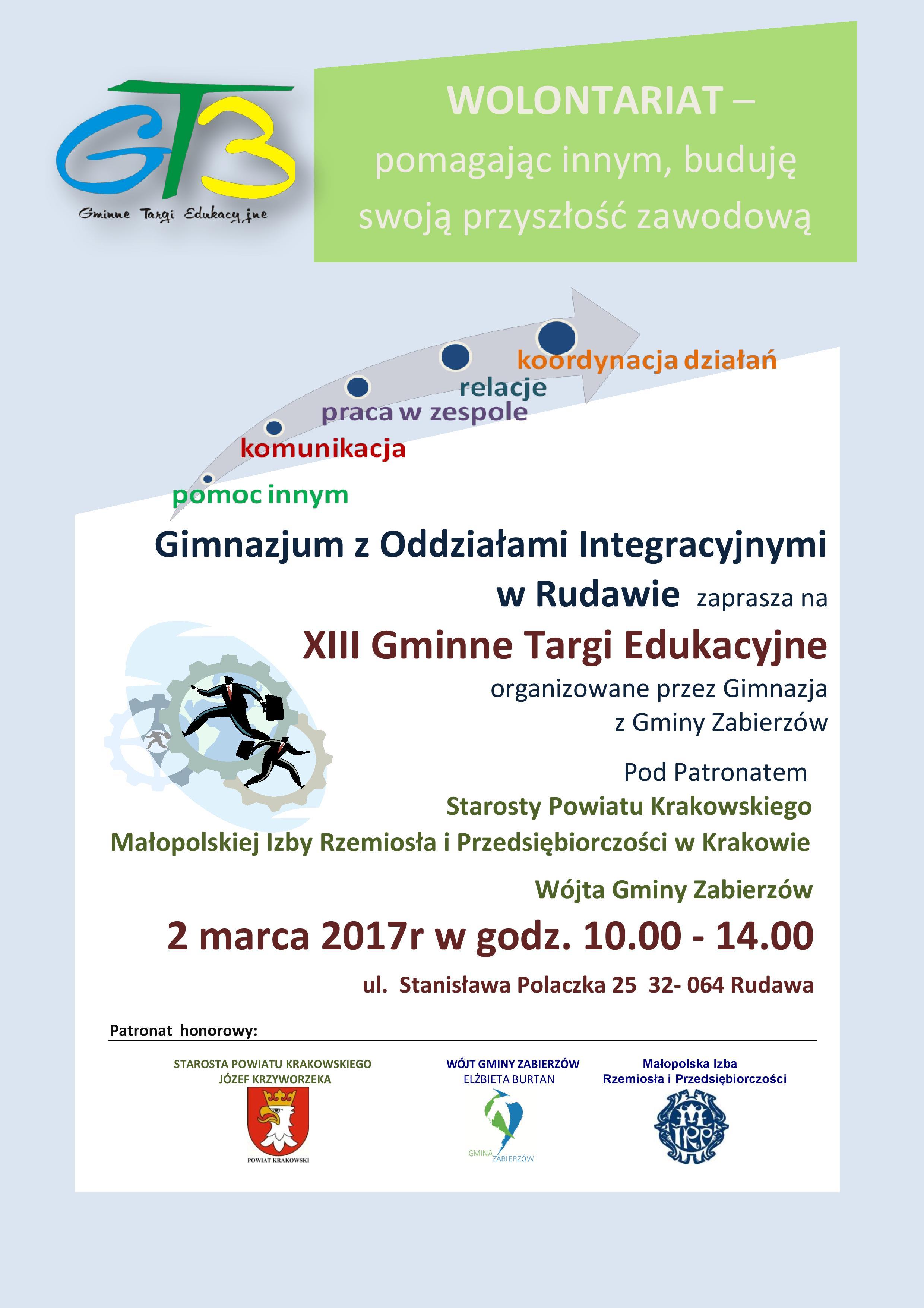 XIII Gminne Targi Edukacyjne @ Rudawa | małopolskie | Polska