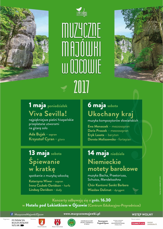 Muzyczne Majówki w Ojcowie 2017 @ Hotel Pod Łokietkiem w Ojcowie | Ojców | małopolskie | Polska