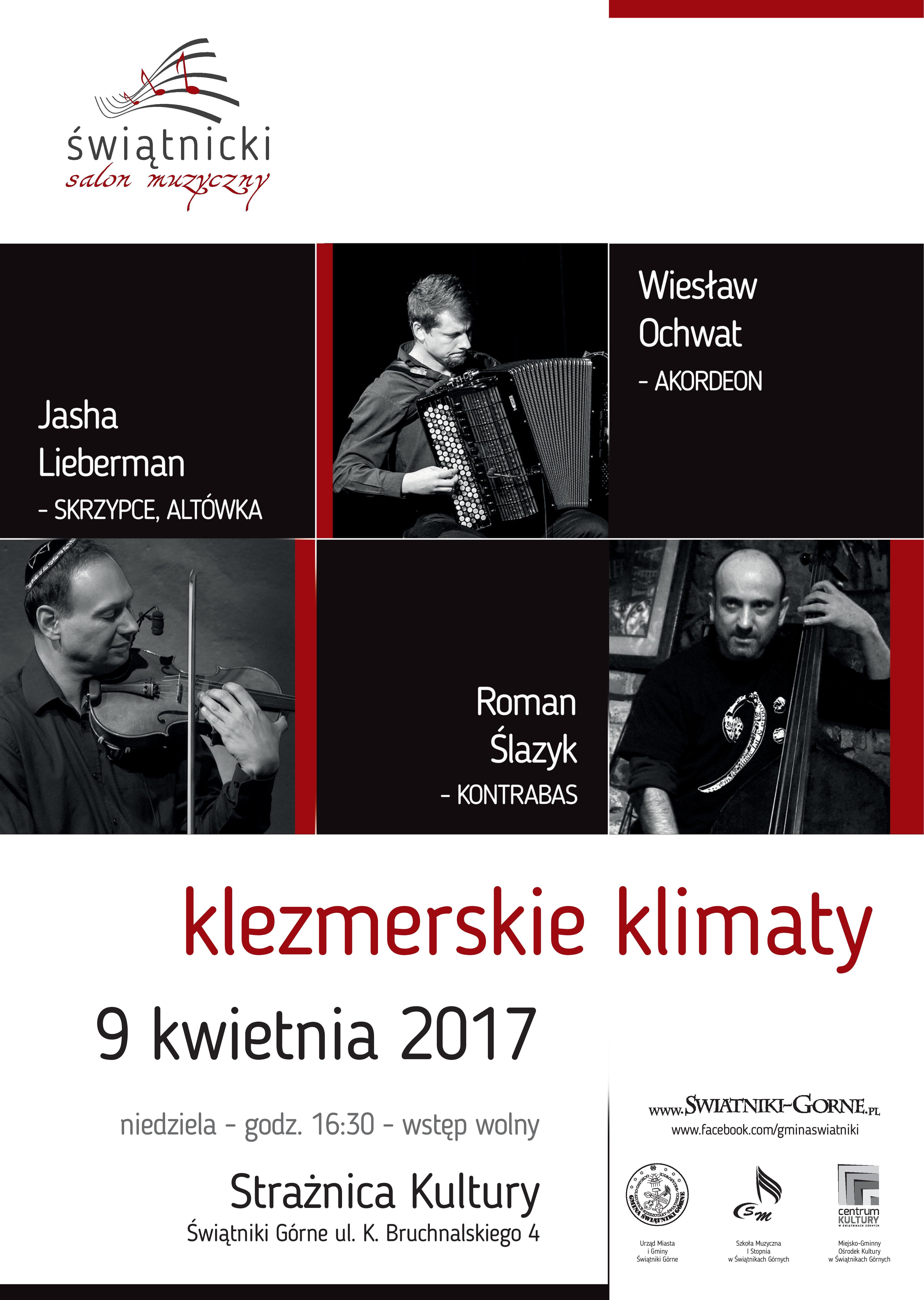 Klezmerskie klimaty @ Strażnica Kultury | Świątniki Górne | małopolskie | Polska