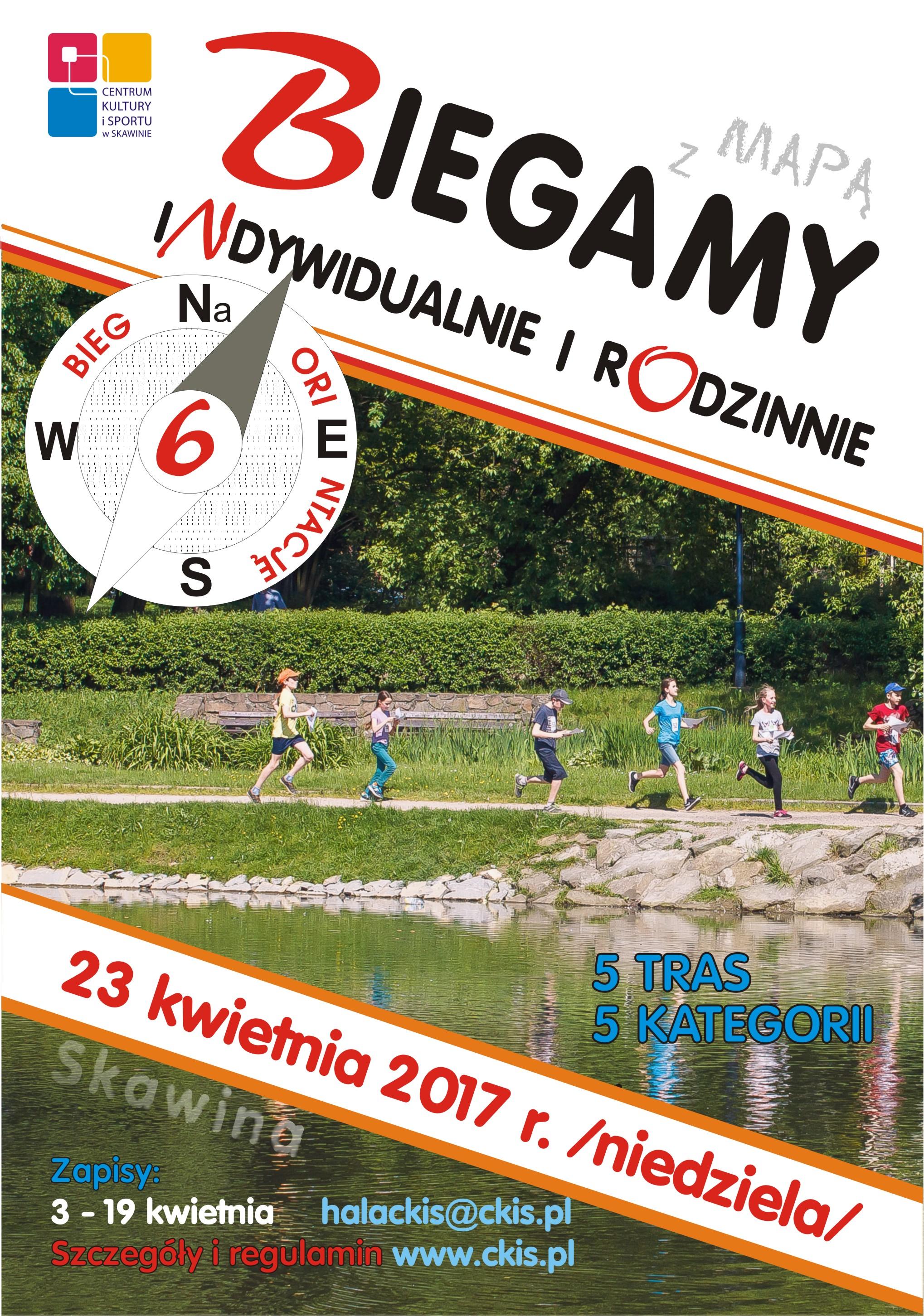 VI Skawiński Bieg Na Orientację @ Skawina | małopolskie | Polska