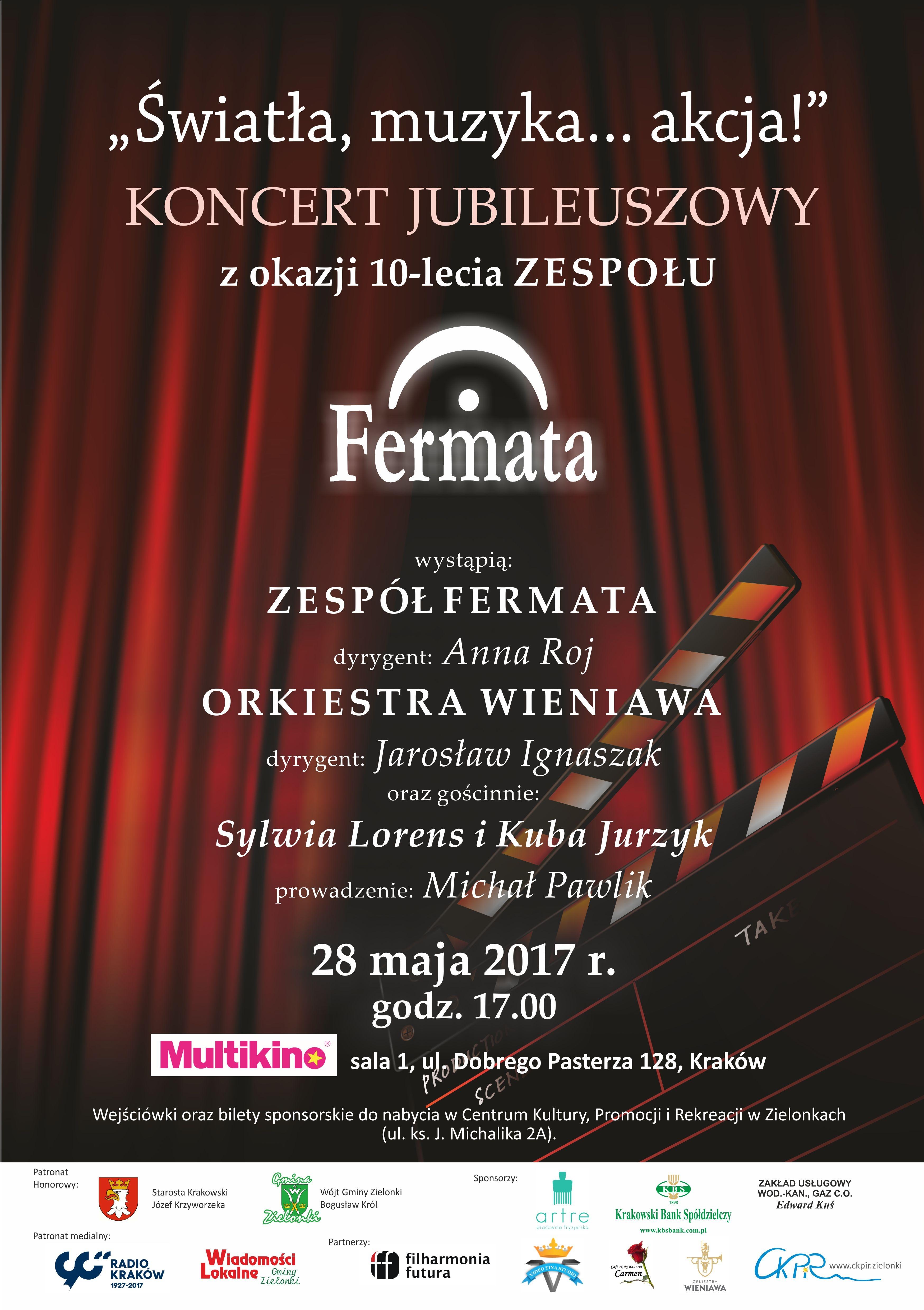 Koncert Jubileuszowy Zespołu Fermata @ Multikino | Kraków | małopolskie | Polska