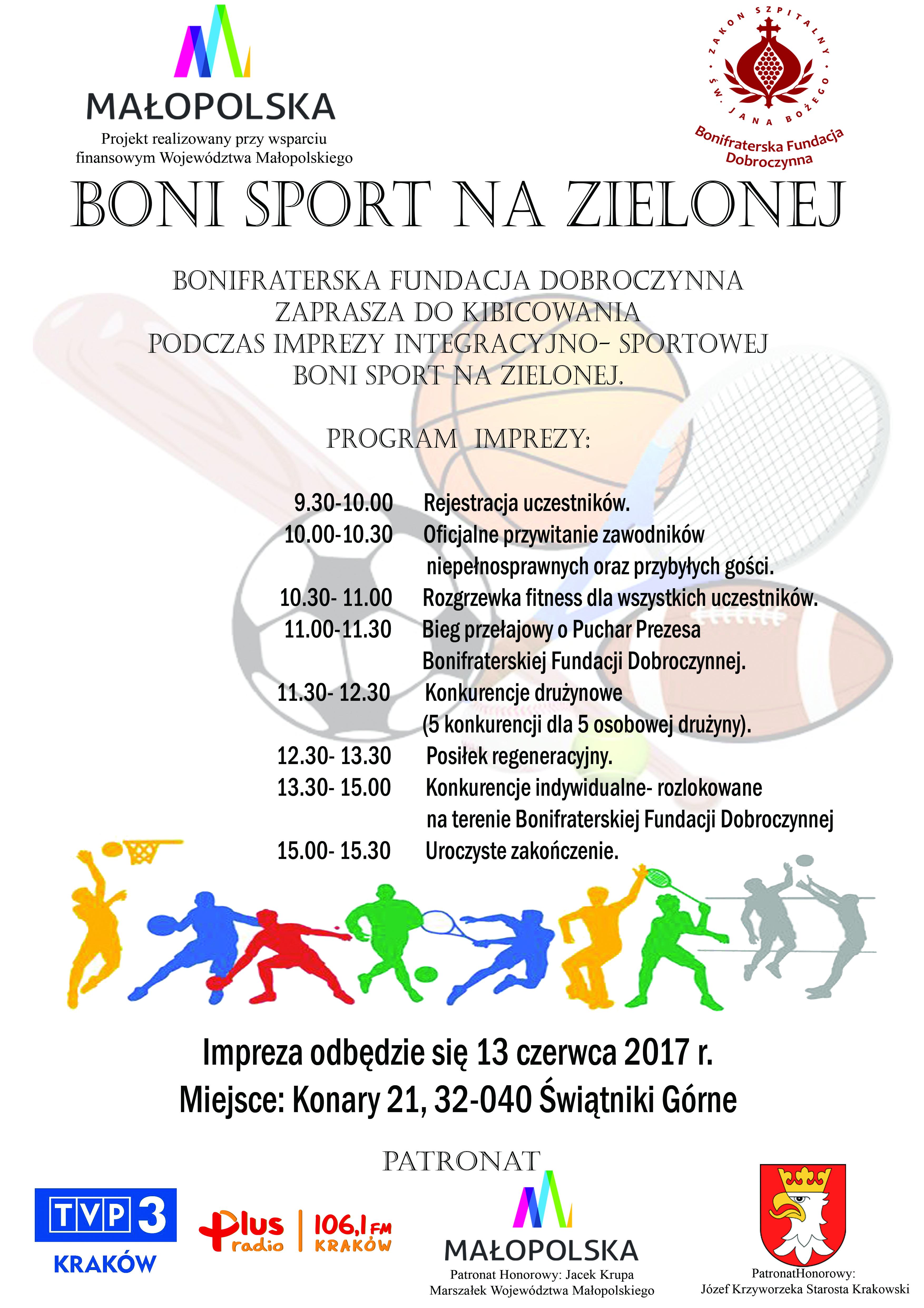 Boni Sport na Zielonej @ Świątniki Górne | małopolskie | Polska