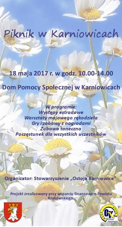 Piknik w Karniowicach @ DPS Karniowice | Karniowice | małopolskie | Polska