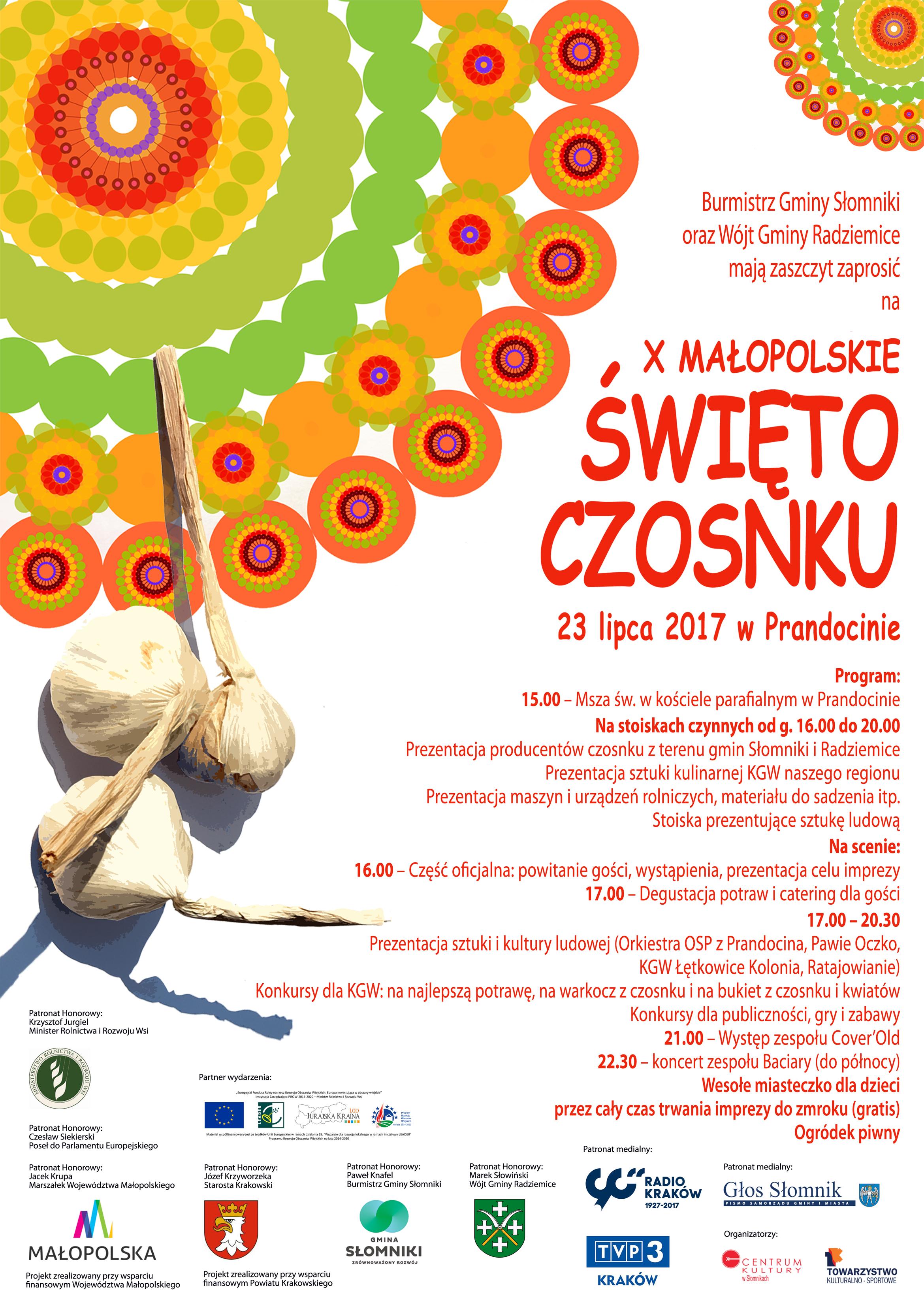 X Małopolskie Święto Czosnku @ Prandocin | małopolskie | Polska