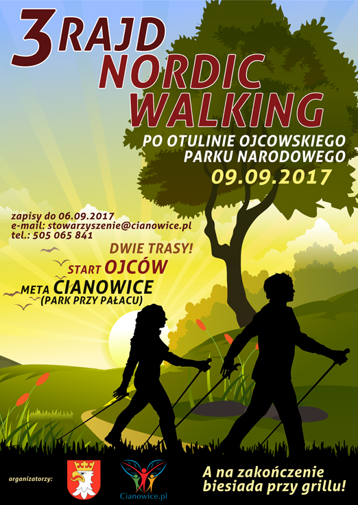3 Rajd Nordic Walking