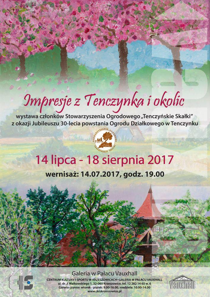 Wernisaż - impresja z Tenczynka i okolic