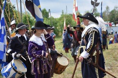 Obrona zamku Tenczyn przed Szwedem
