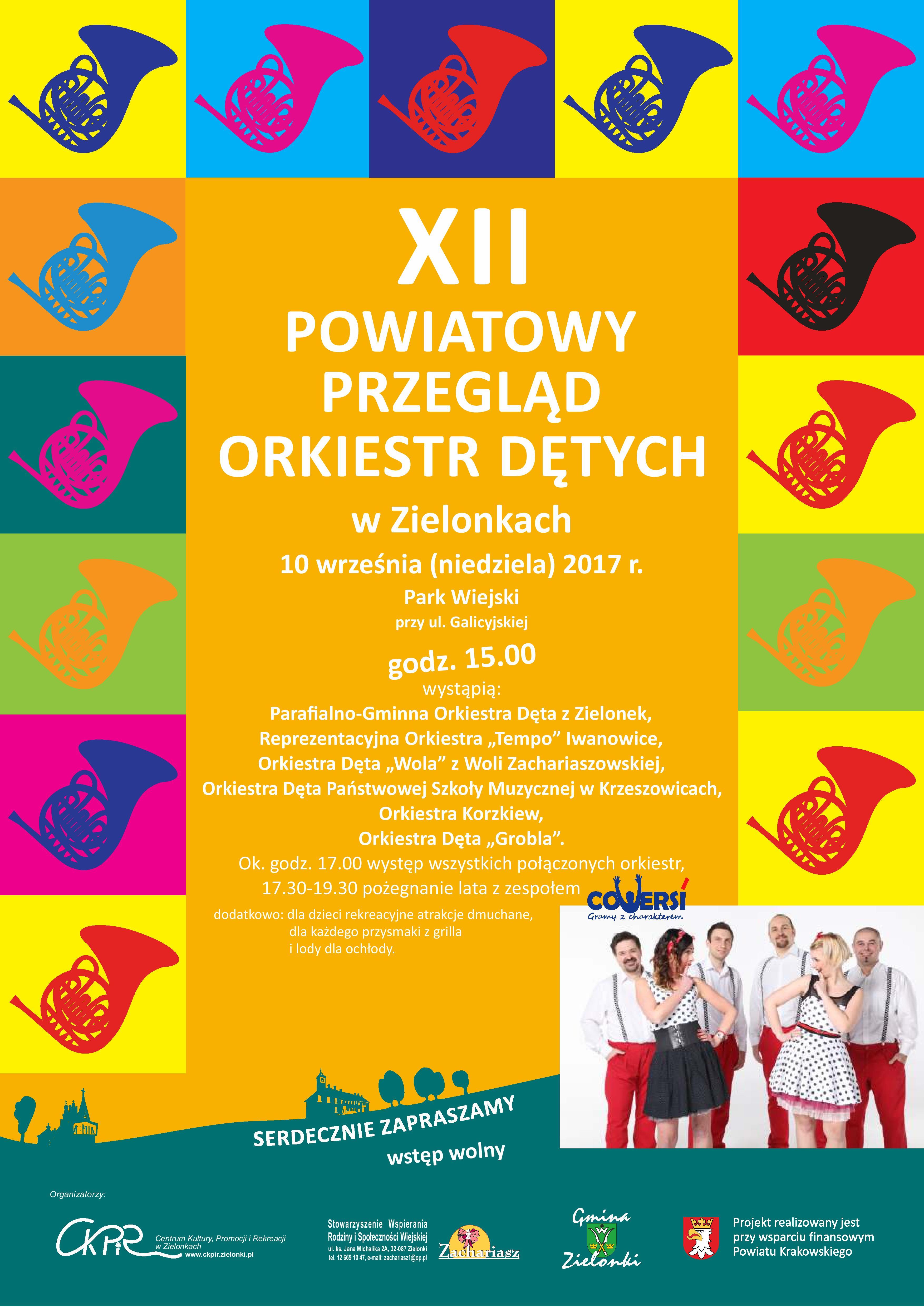 XII Powiatowy Przegląd Orkiestr Dętych w Zielonkach @ Zielonki | małopolskie | Polska