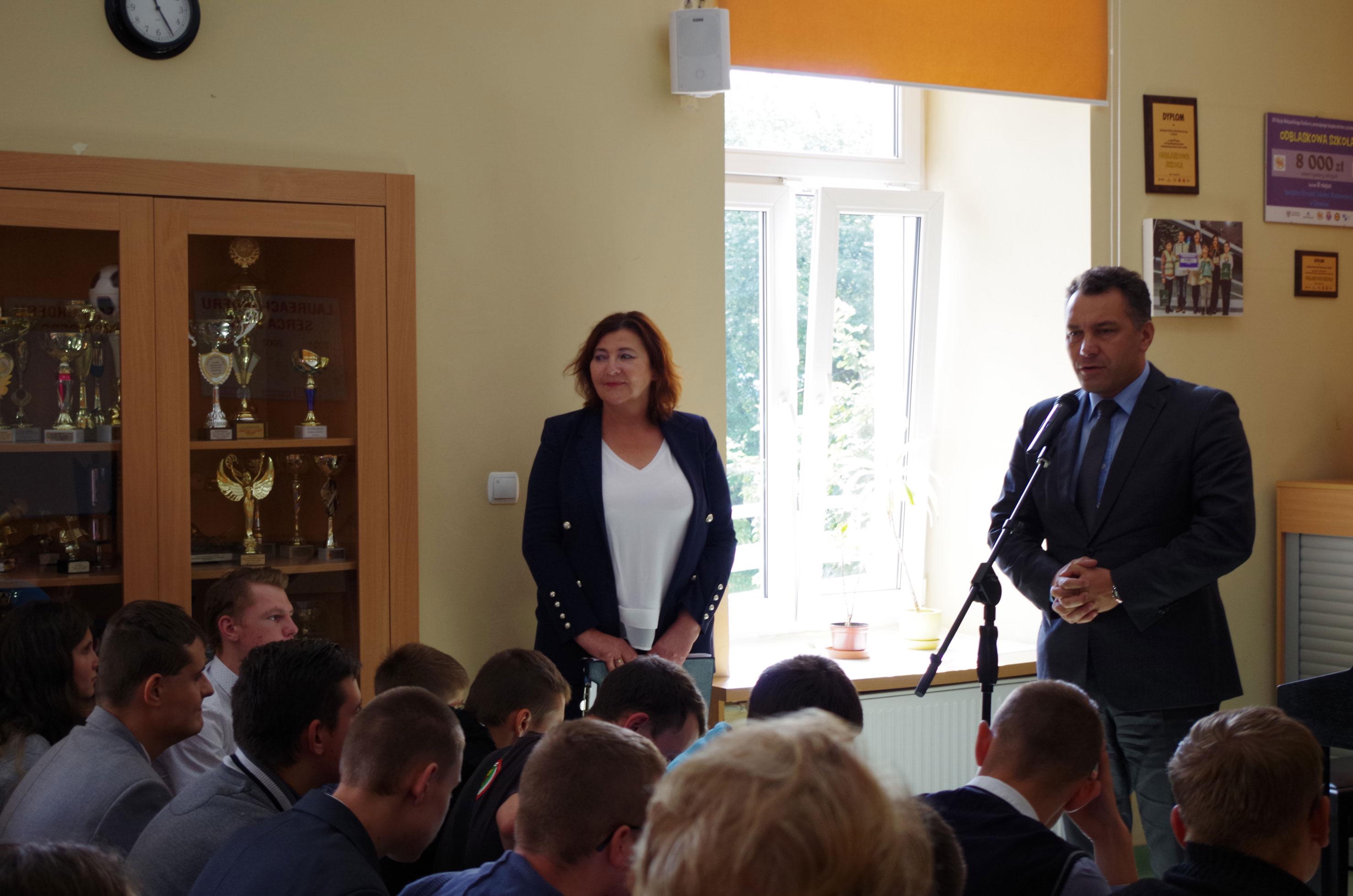 Inauguracja roku szkolnego w SOSW w Skawinie