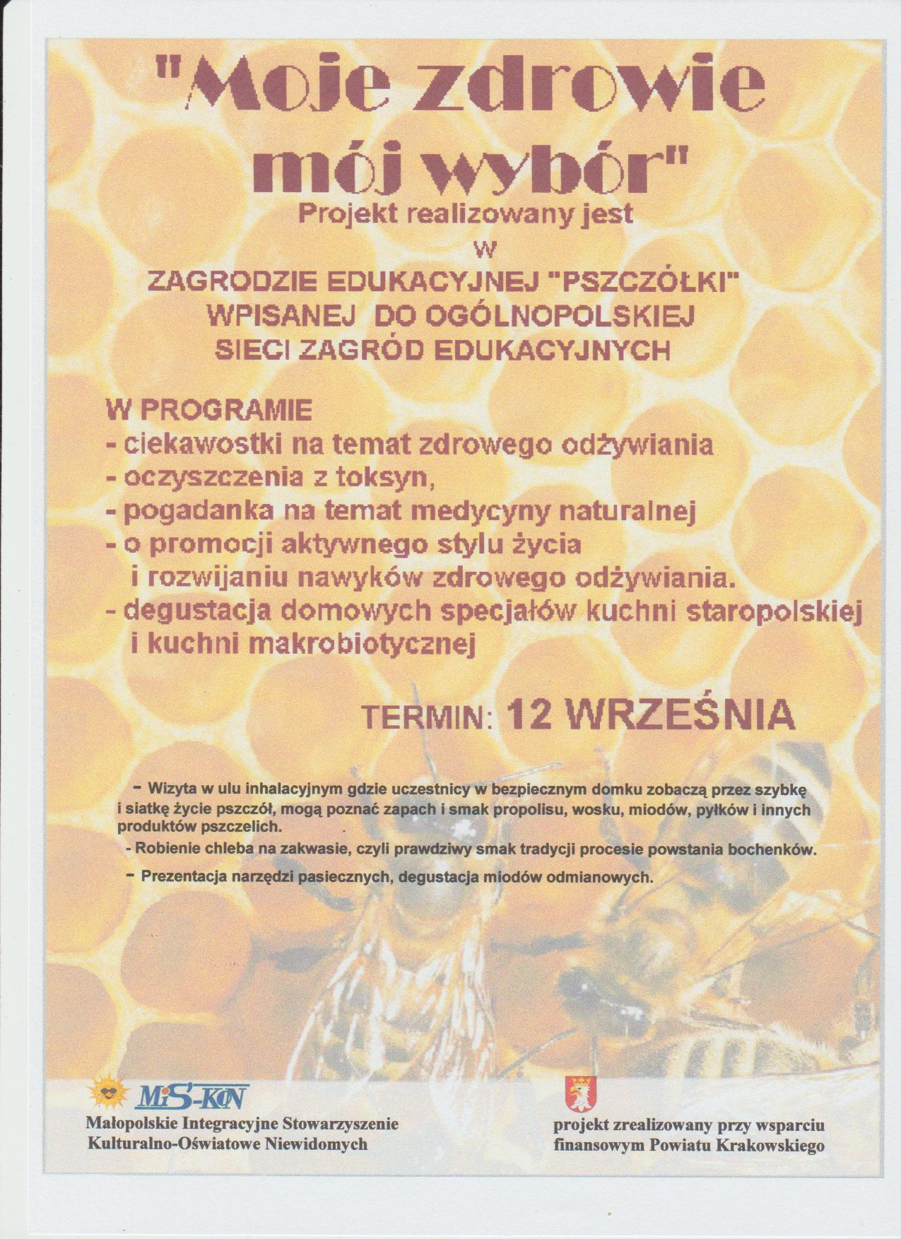 Moje Zdrowie Mój Wybór Starostwo Powiatowe W Krakowie