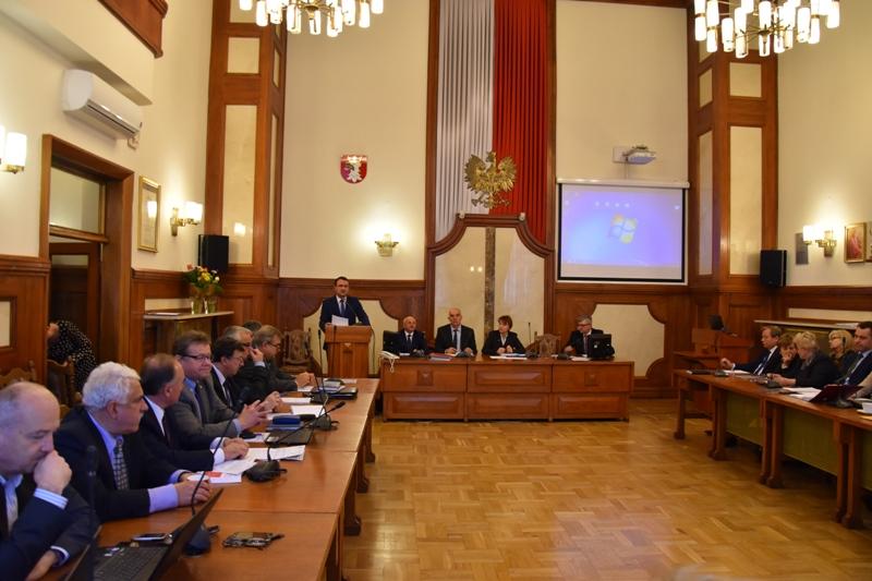 XXXVI zwyczajna sesja Rady Powiatu w Krakowie