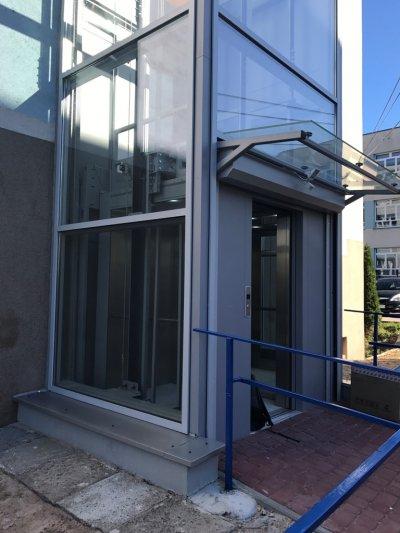 Filia w Skawinie z nową windą