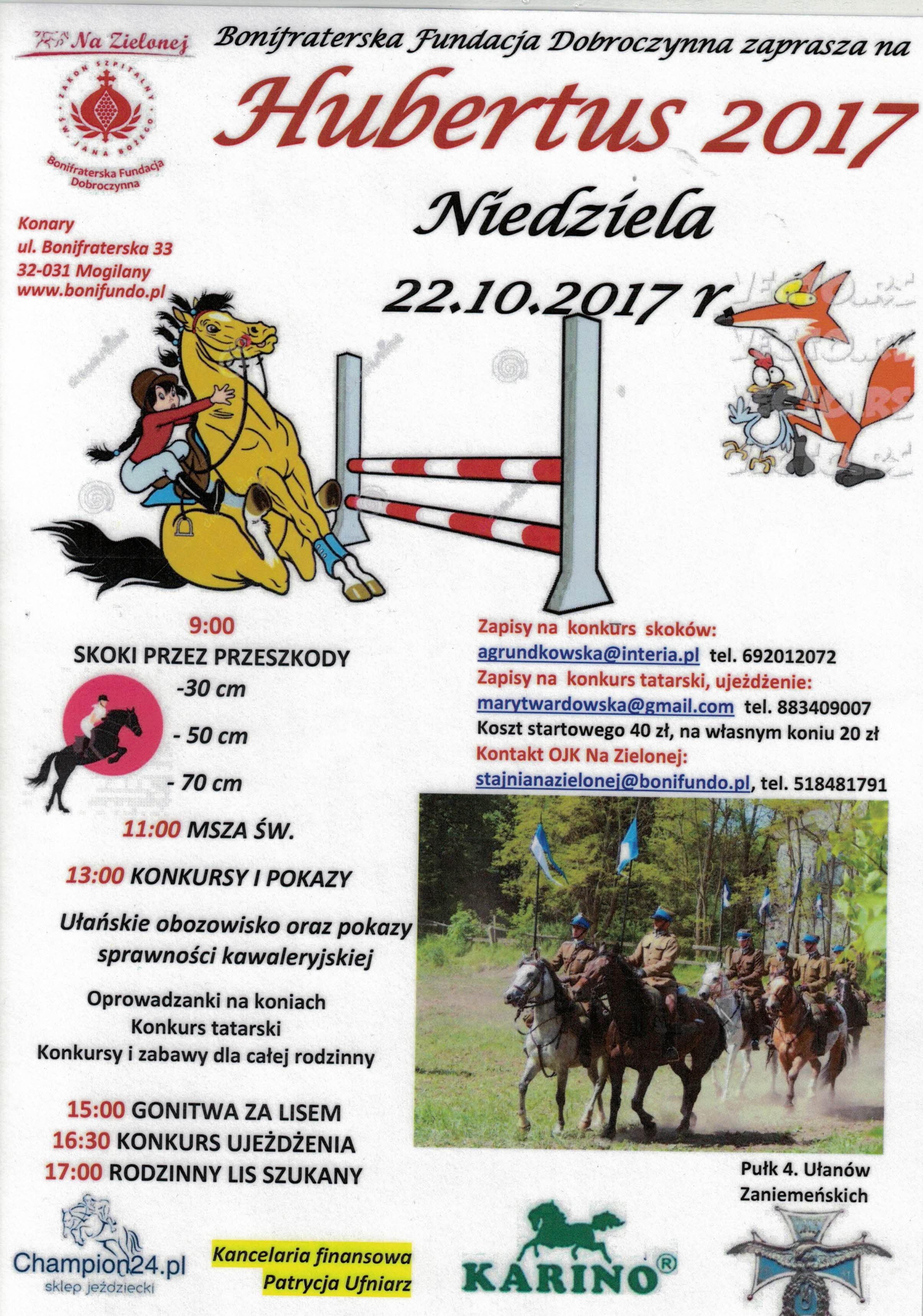 Hubertus 2017 @ Bonifraterska Fundacja Dobroczynna | Wrząsowice | małopolskie | Polska