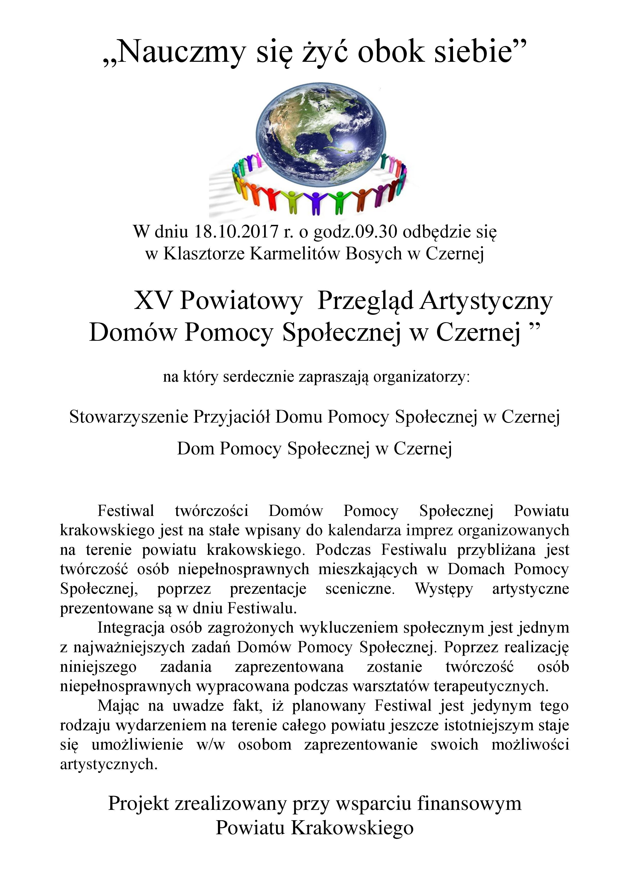Nauczmy się żyć obok siebie @ Klasztor Karmelitów Bosych | Czerna | małopolskie | Polska