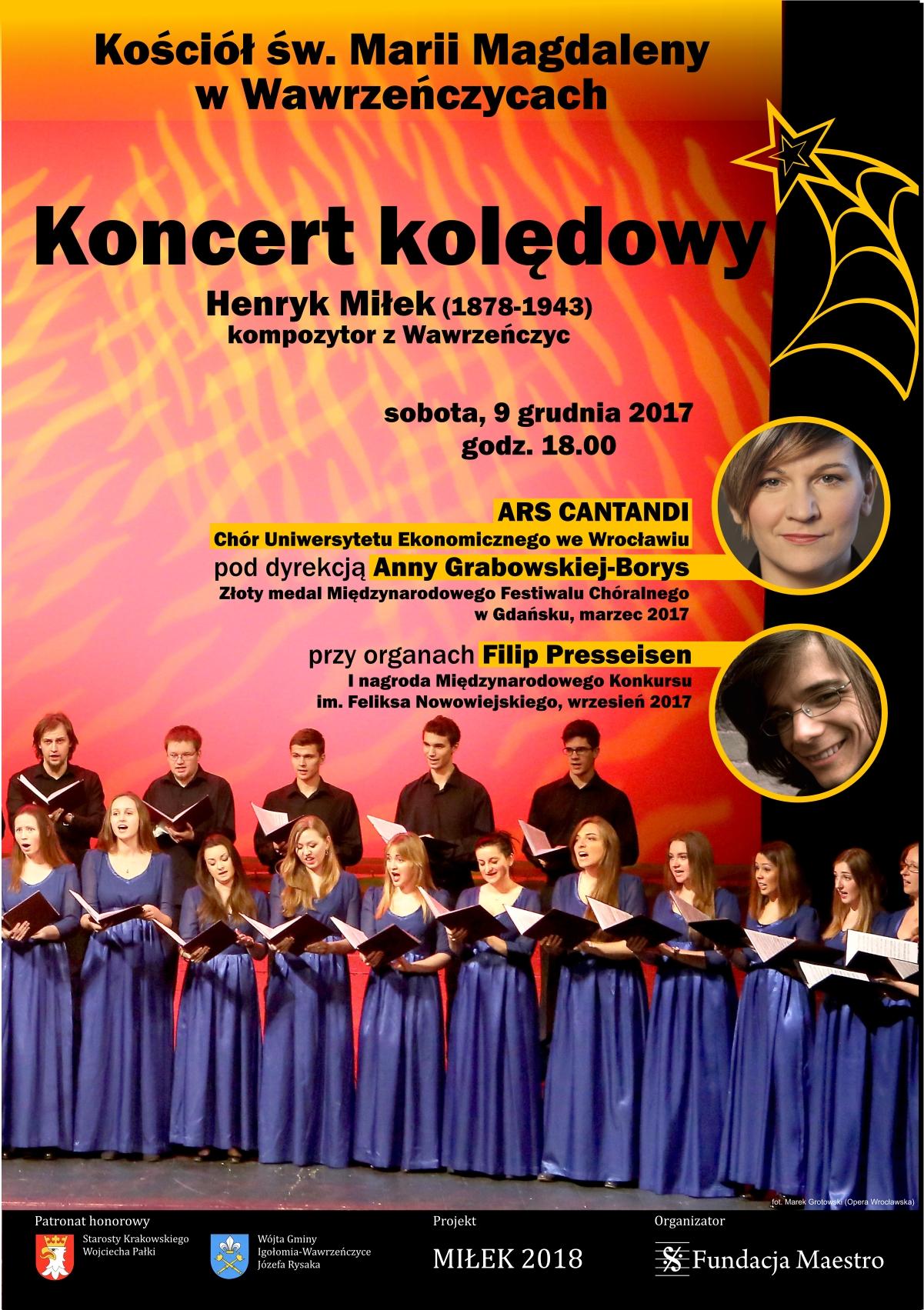 Koncert kolędowy @ Kościół św. Marii Magdaleny | Wawrzeńczyce | małopolskie | Polska