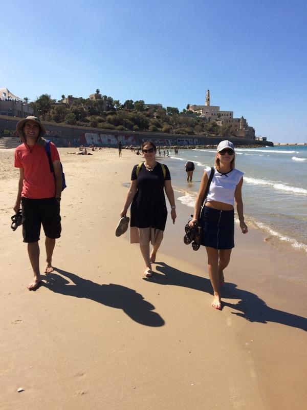 Uczniowie ZS i PO w Skale w Izraelu