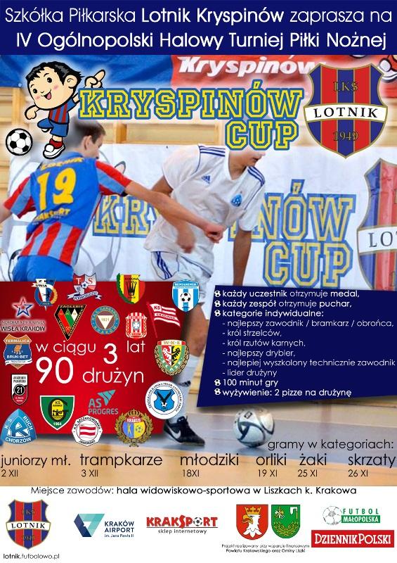 IV Ogólnopolski Halowy Turniej Piłki Nożnej @ Hala widowiskowo-sportowa w Liszkach | małopolskie | Polska