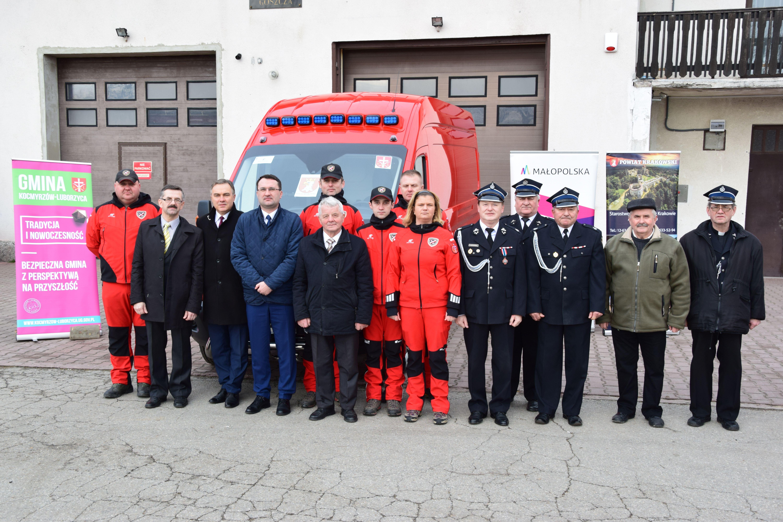 Samochód dla Grupy Poszukiwawczo-Ratowniczej w Goszczy