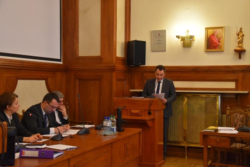 XXXIX zwyczajna sesja Rady Powiatu w Krakowie
