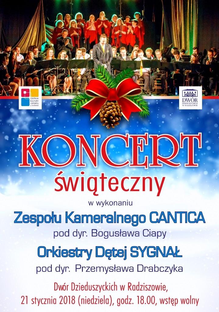Koncert Świąteczny @ Dwór Dzieduszyckich | Radziszów | małopolskie | Polska