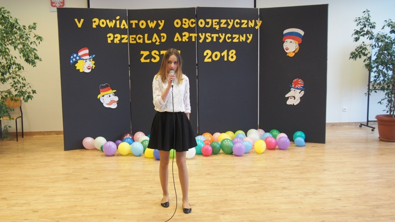 V Obcojęzyczny Przegląd Artystyczny w Skawinie