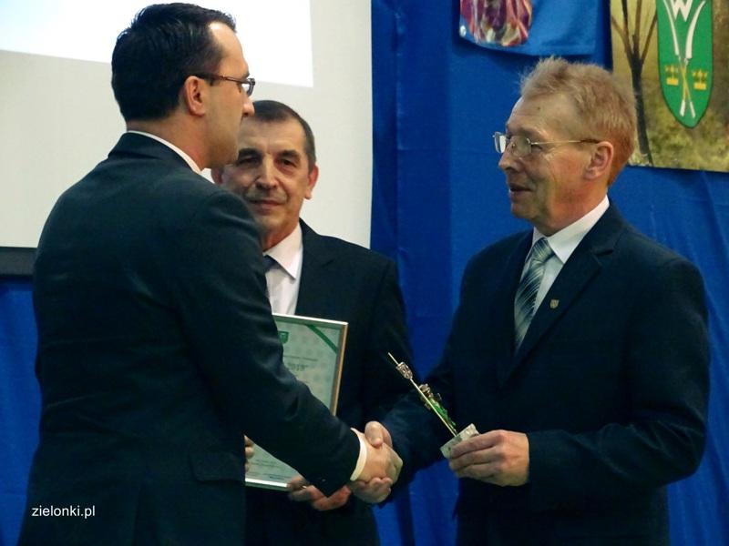 Starosta nagrodzony Śledzikiem Samorządowym Gminy Zielonki