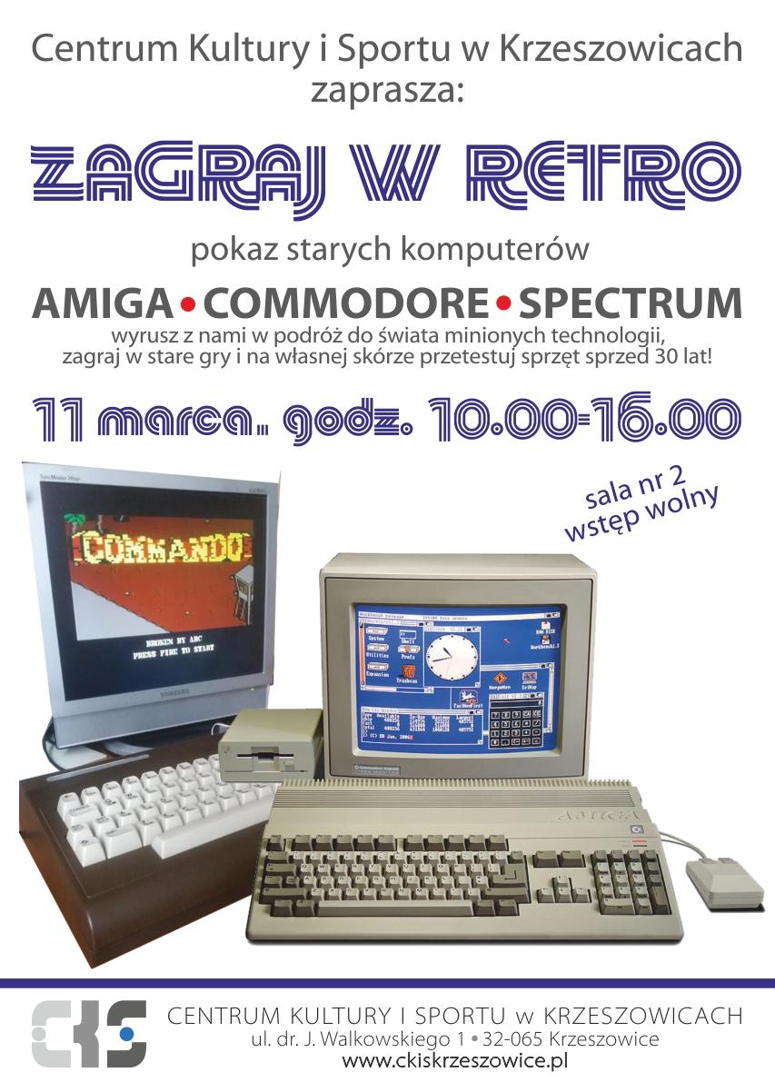 Zagraj w retro - pokaz starych komputerów @ CKiS Krzeszowice | Krzeszowice | małopolskie | Polska