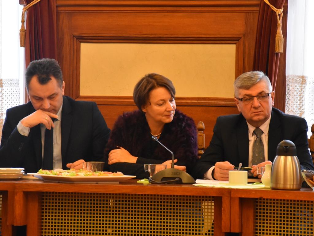 Spotkanie Wójtów i Burmistrzów z Zarządem i Prezydium Rady Powiatu