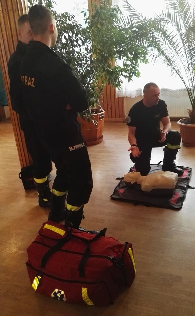 Lekcja pierwszej pomocy