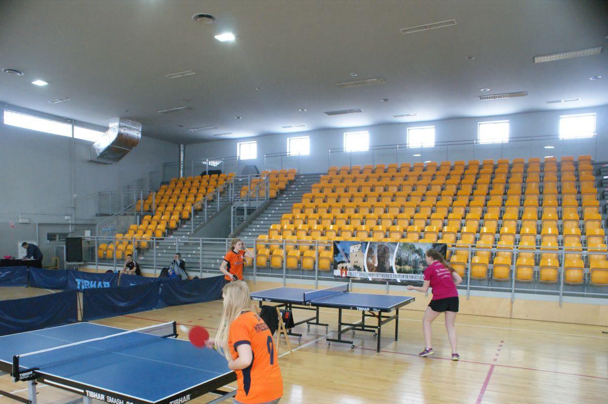 Tenis stołowy drużynowy LIC