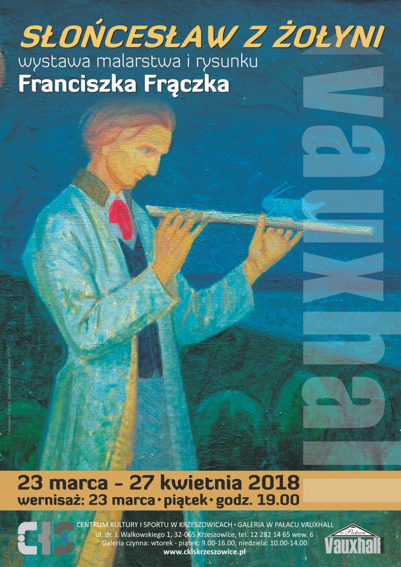 Słońcesław z Żołyni - wystawa malarstwa i rysunku Franciszka Frączka / wernisaż @ CKiS Krzeszowice - Galeria w Pałacu Vauxhall | Krzeszowice | małopolskie | Polska