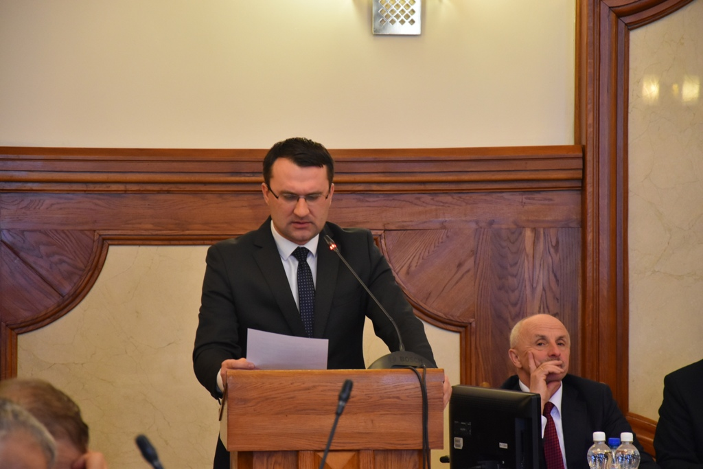 XL zwyczajna sesja Rady Powiatu w Krakowie