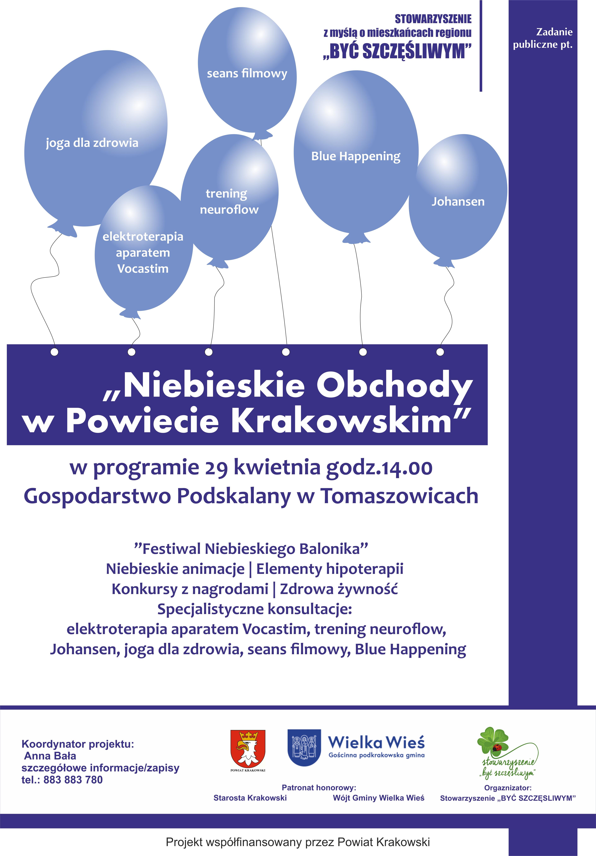 Niebieskie Obchody w Powiecie Krakowskim @ Gospodarstwo Podskalny w Tomaswzowicach | Tomaszowice | małopolskie | Polska
