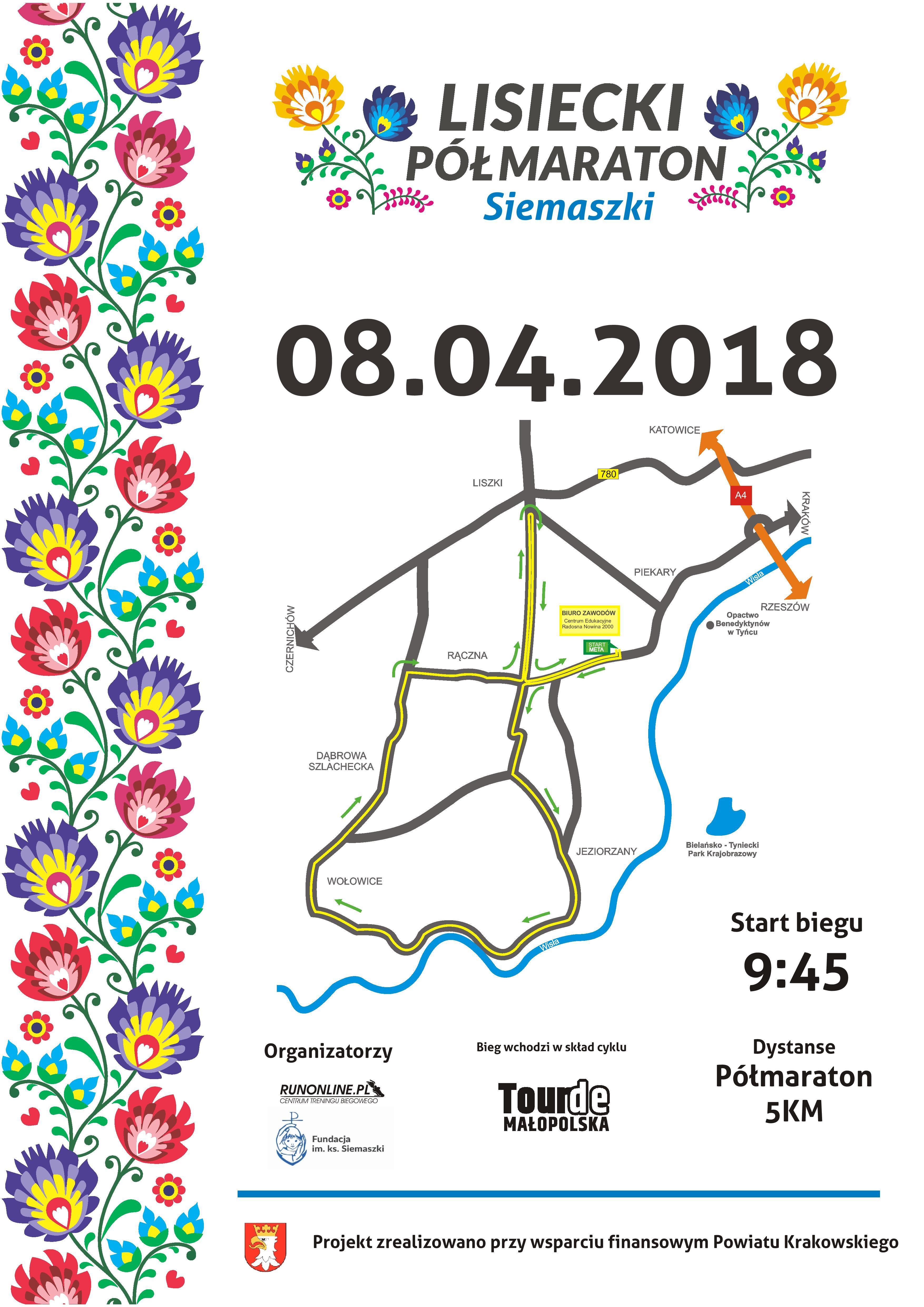 Lisiecki Półmaraton Siemaszki @ Radosna Nowina 2000 | Piekary | Polska