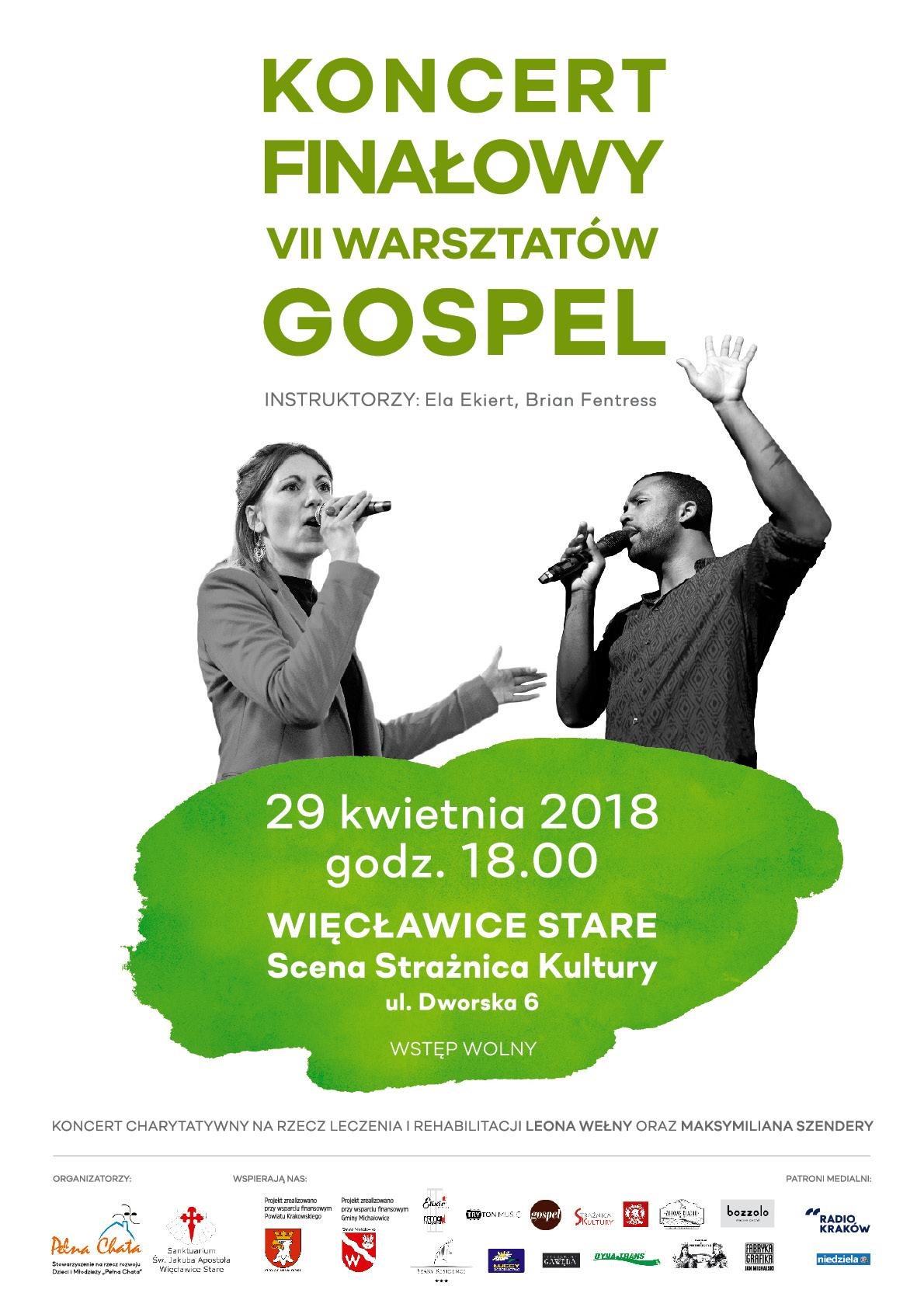 Koncert Finałowy VII Warsztatów Gospel @ Więcławice Stare | małopolskie | Polska
