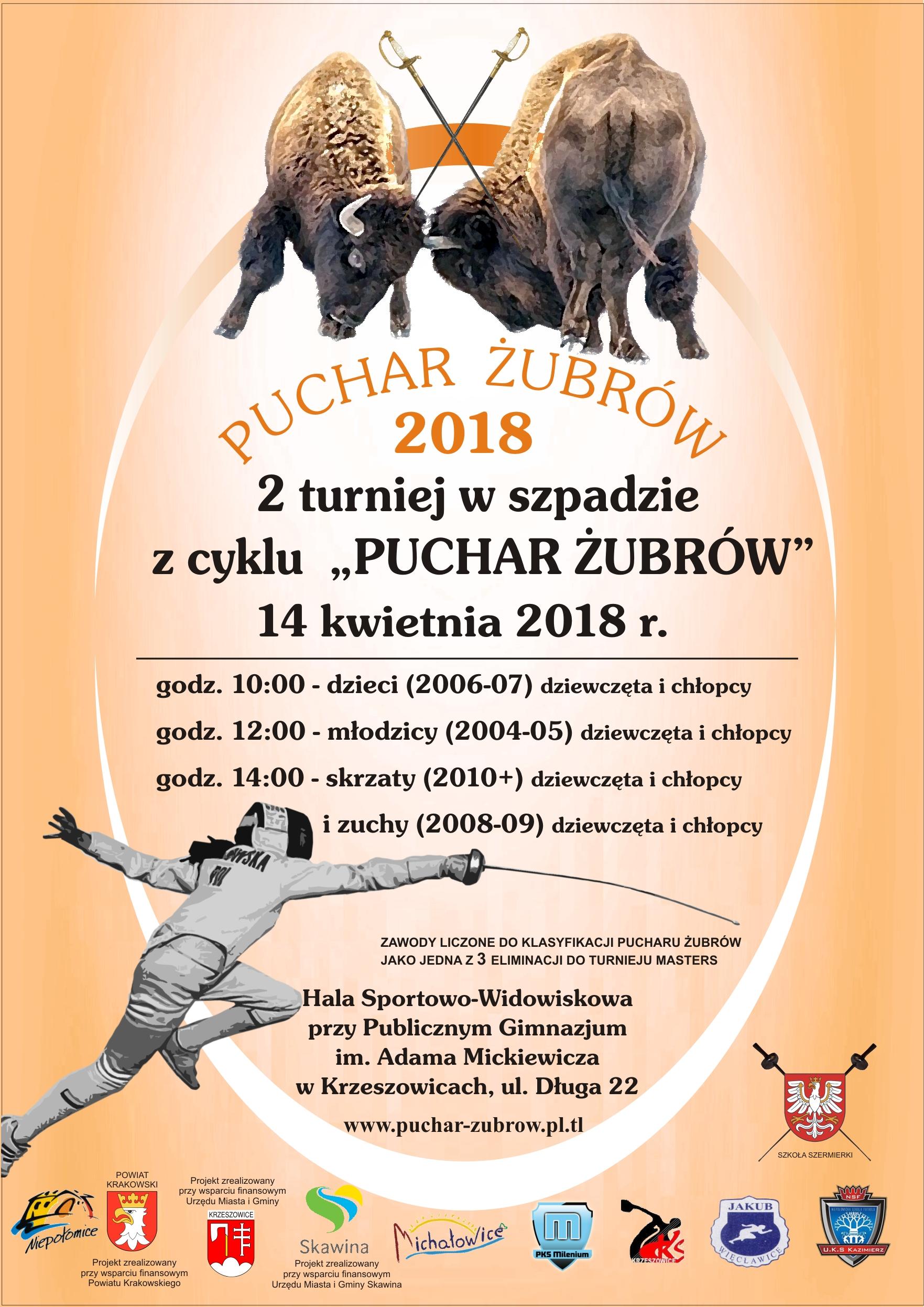 plakaty żubry 2018 2