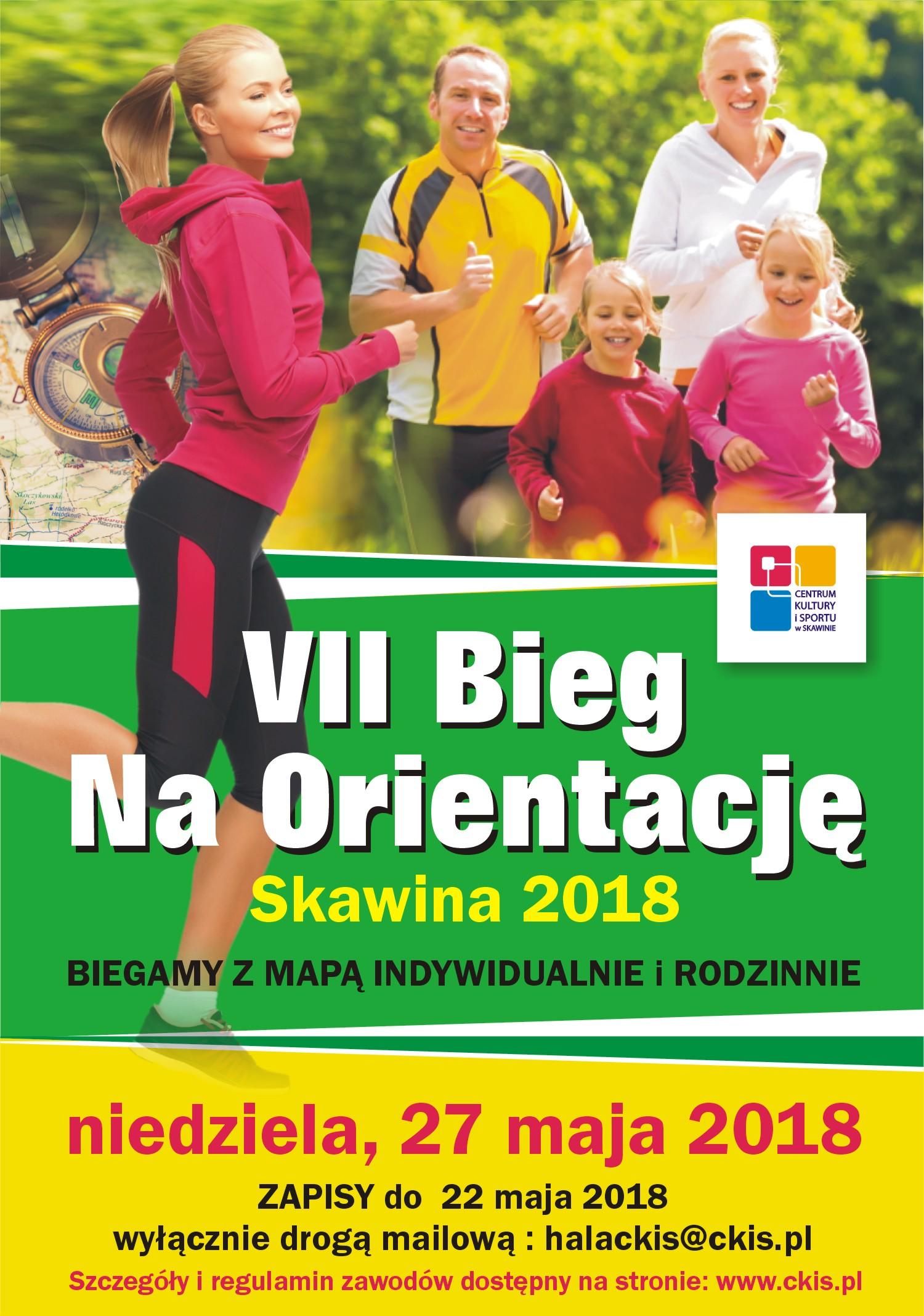 VII Bieg na orientację @ Skawina | małopolskie | Polska