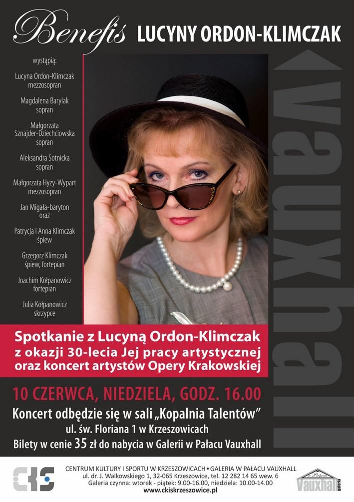 Benefis Lucyny Ordon-Klimczak @ Kopalnia Talentów | małopolskie | Polska