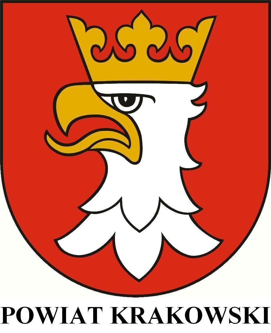 Znalezione obrazy dla zapytania powiat krakowski herb